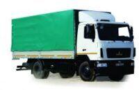 jauns MAZ 534026 kravas automašīna ar tentu