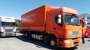 RENAULT PREMIUM 460 kravas automašīna ar tentu