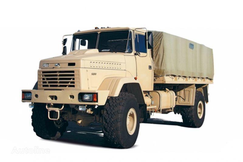 jauns KRAZ 5233VE kravas automašīna ar tentu