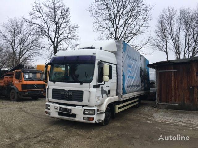 MAN TG-L 8.180 kravas automašīna ar tentu
