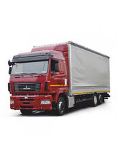 MAZ 6310Е9-520-031 (ЄВРО-5) kravas automašīna ar tentu