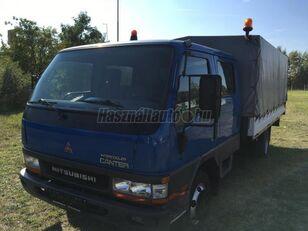 MITSUBISHI CANTER DOKA P+P 4m-es platóval kravas automašīna ar tentu