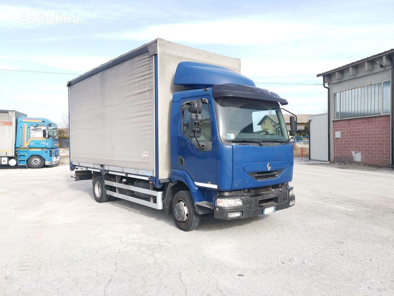 RENAULT Midlum 180 kravas automašīna ar tentu