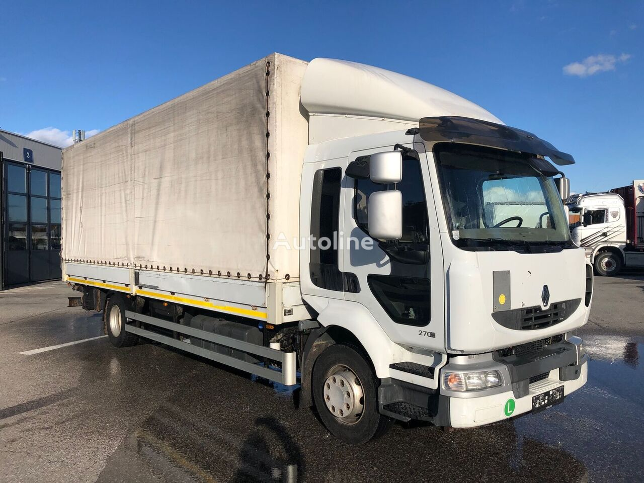 RENAULT Midlum 270.14 kravas automašīna ar tentu