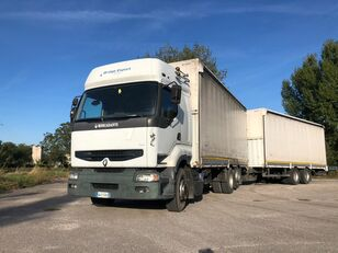 RENAULT PREMIUM 420 DCI + biga Omar + rimorchio centinato kravas automašīna ar tentu