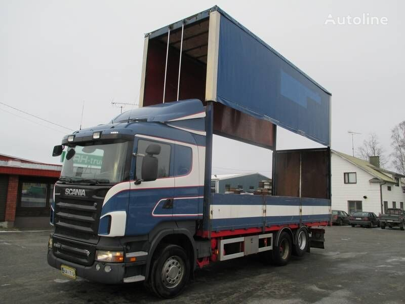 SCANIA R 500 kravas automašīna ar tentu