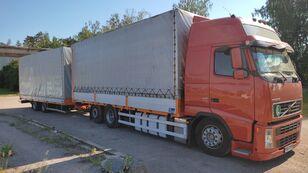 VOLVO FH 440 kravas automašīna ar tentu + kravas kaste ar tentu piekabe