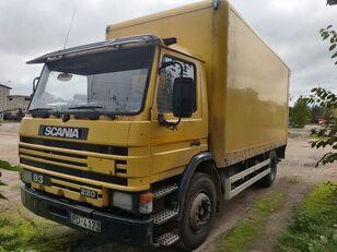 SCANIA P93M 4x2 kravas automašīna furgons