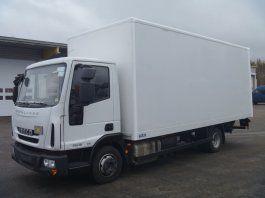 IVECO EuroCargo 75 kravas automašīna furgons