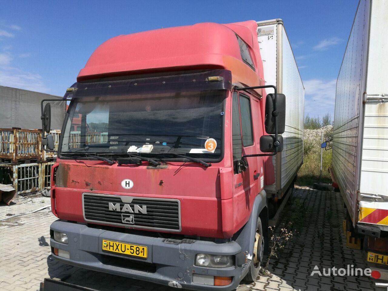 MAN 8.185 LC kravas automašīna furgons