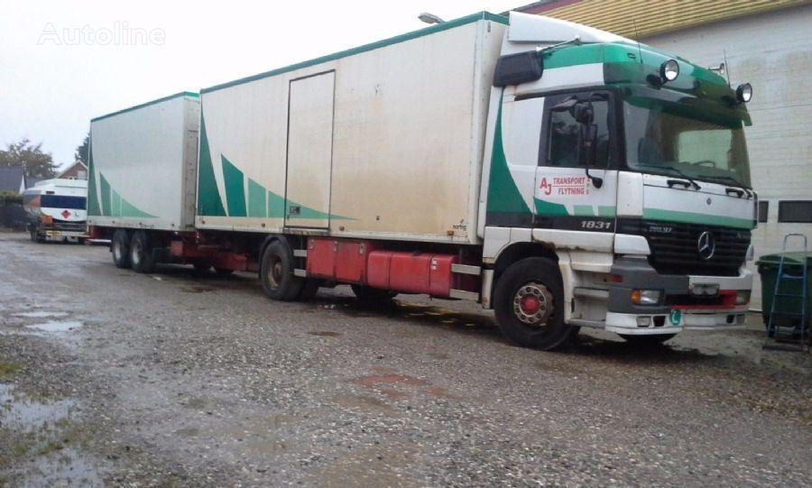 MERCEDES-BENZ 1831 Actros box kravas automašīna furgons