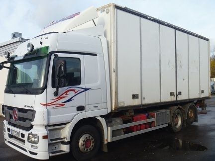 MERCEDES-BENZ Actros 2544L kravas automašīna furgons