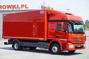 MERCEDES-BENZ Atego 1224, E6, 4x2, 6.10m container, GLOB cabin, retarder kravas automašīna furgons