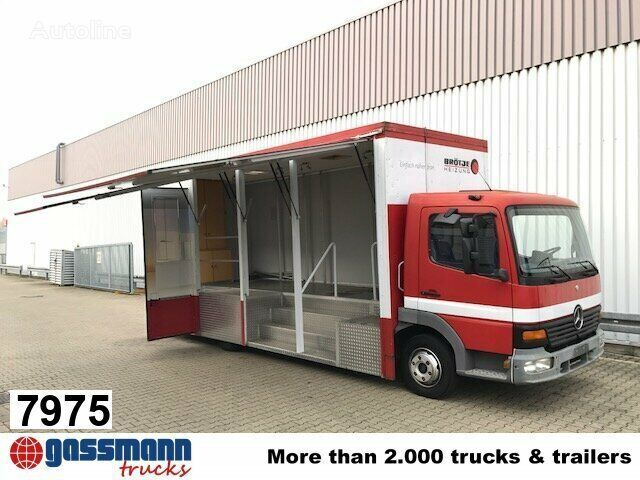 MERCEDES-BENZ Atego 817  kravas automašīna furgons