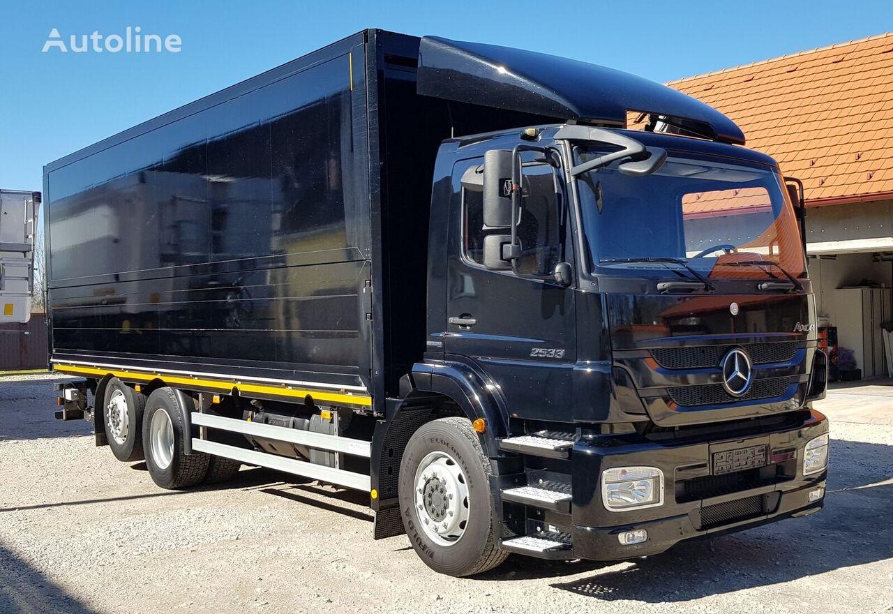 MERCEDES-BENZ Axor 2533 L kravas automašīna furgons