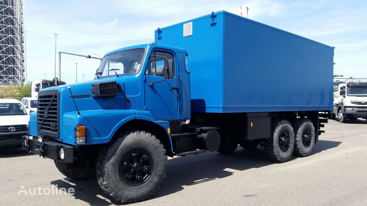 VOLVO N10  kravas automašīna furgons