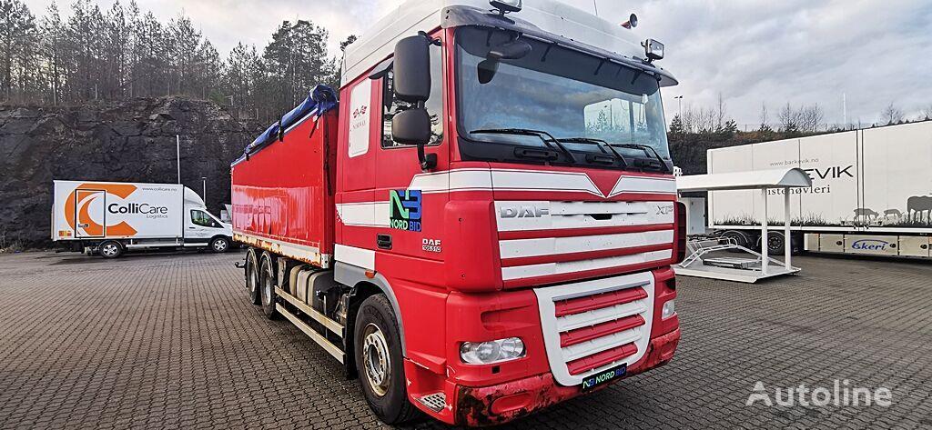 DAF XF 105.410 6x4 grain tipper / getreidekipper / Euro 5 kravas automašīna graudu pārvadāšanai