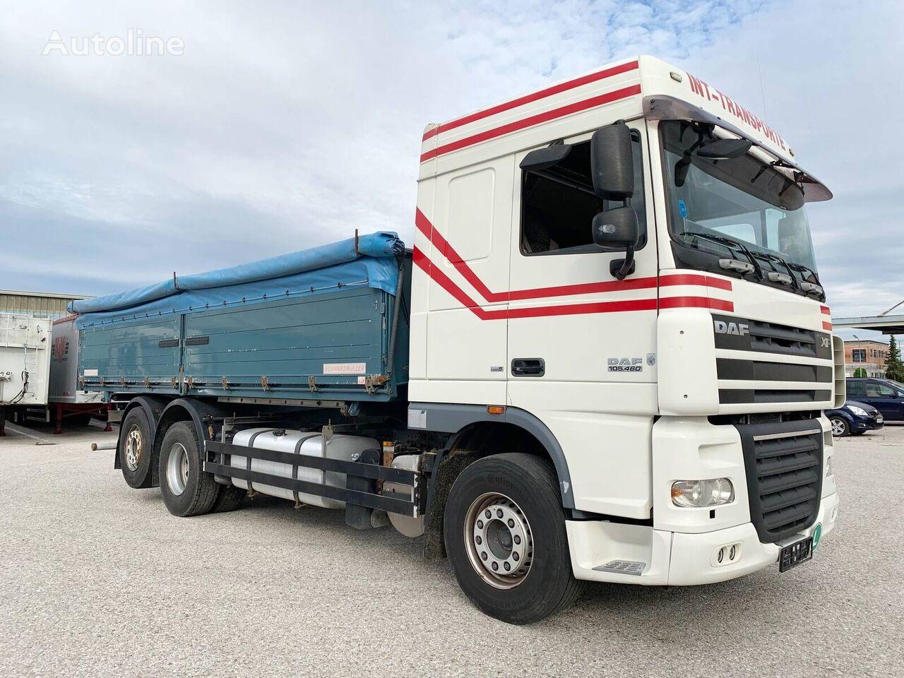 DAF XF105 kravas automašīna graudu pārvadāšanai