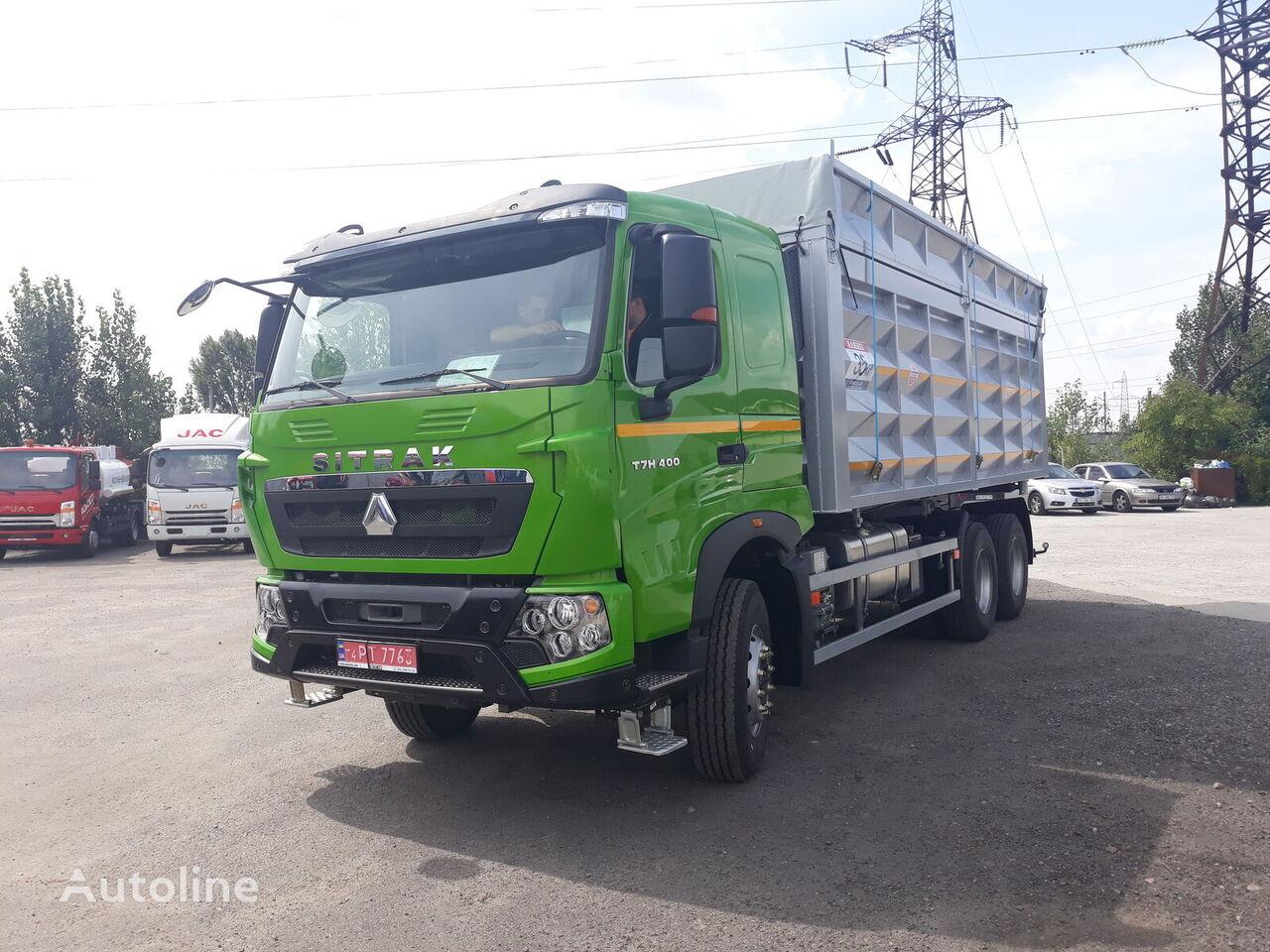 jauns HOWO T7H kravas automašīna graudu pārvadāšanai