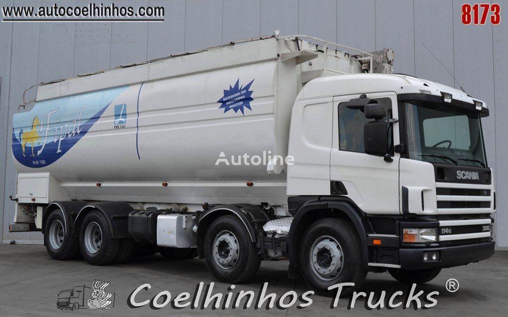 SCANIA 114G 380   kravas automašīna graudu pārvadāšanai