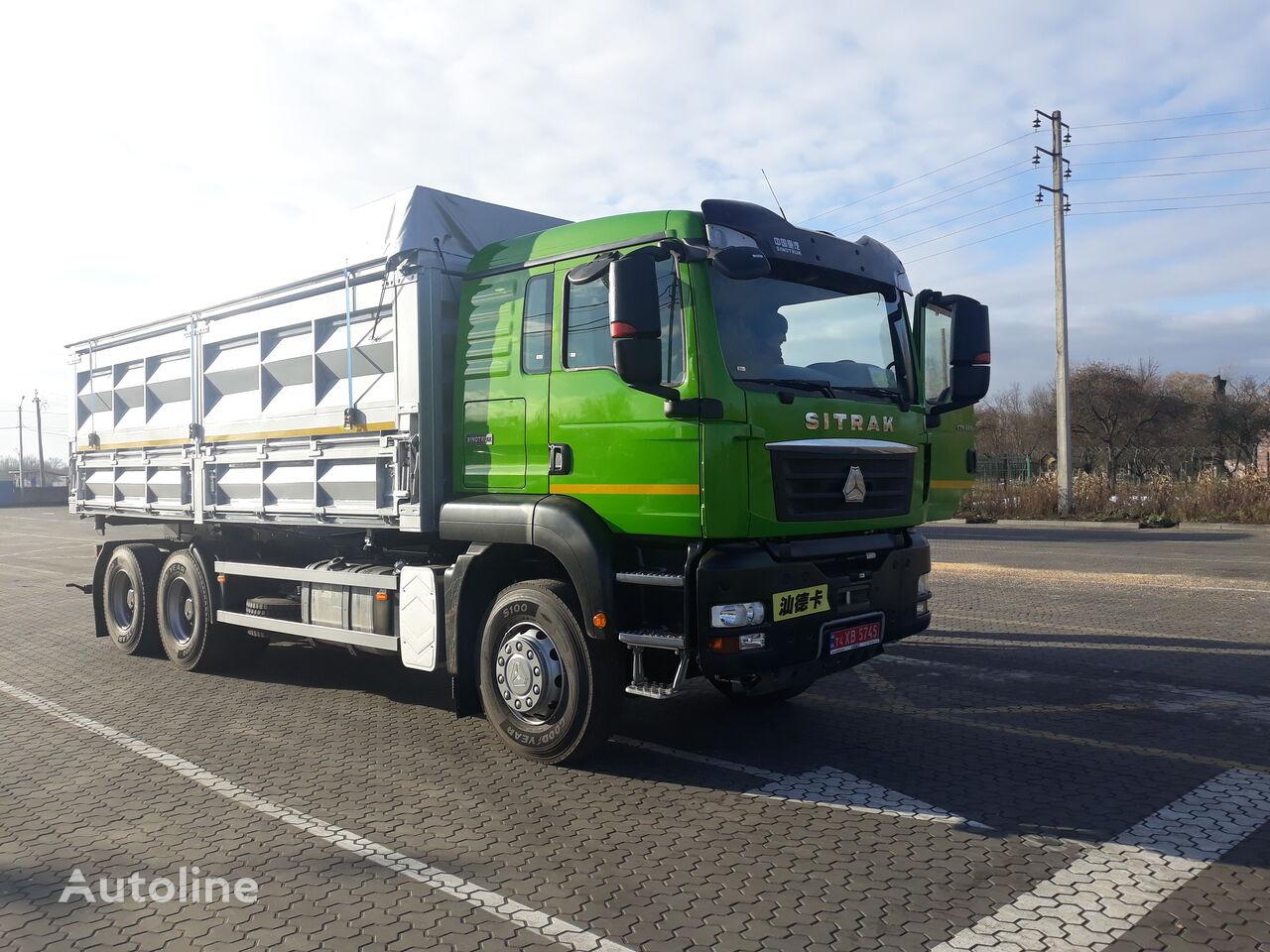 jauns SINOTRUK SITRAK C7H kravas automašīna graudu pārvadāšanai