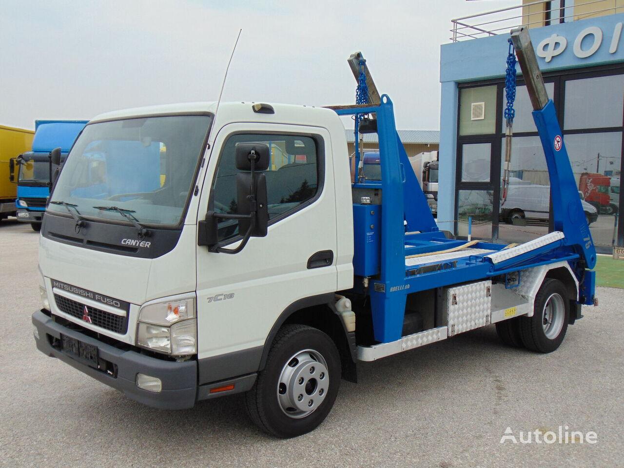 MITSUBISHI FUSO CANTER 7C18 kravas automašīna konteinera vedējs
