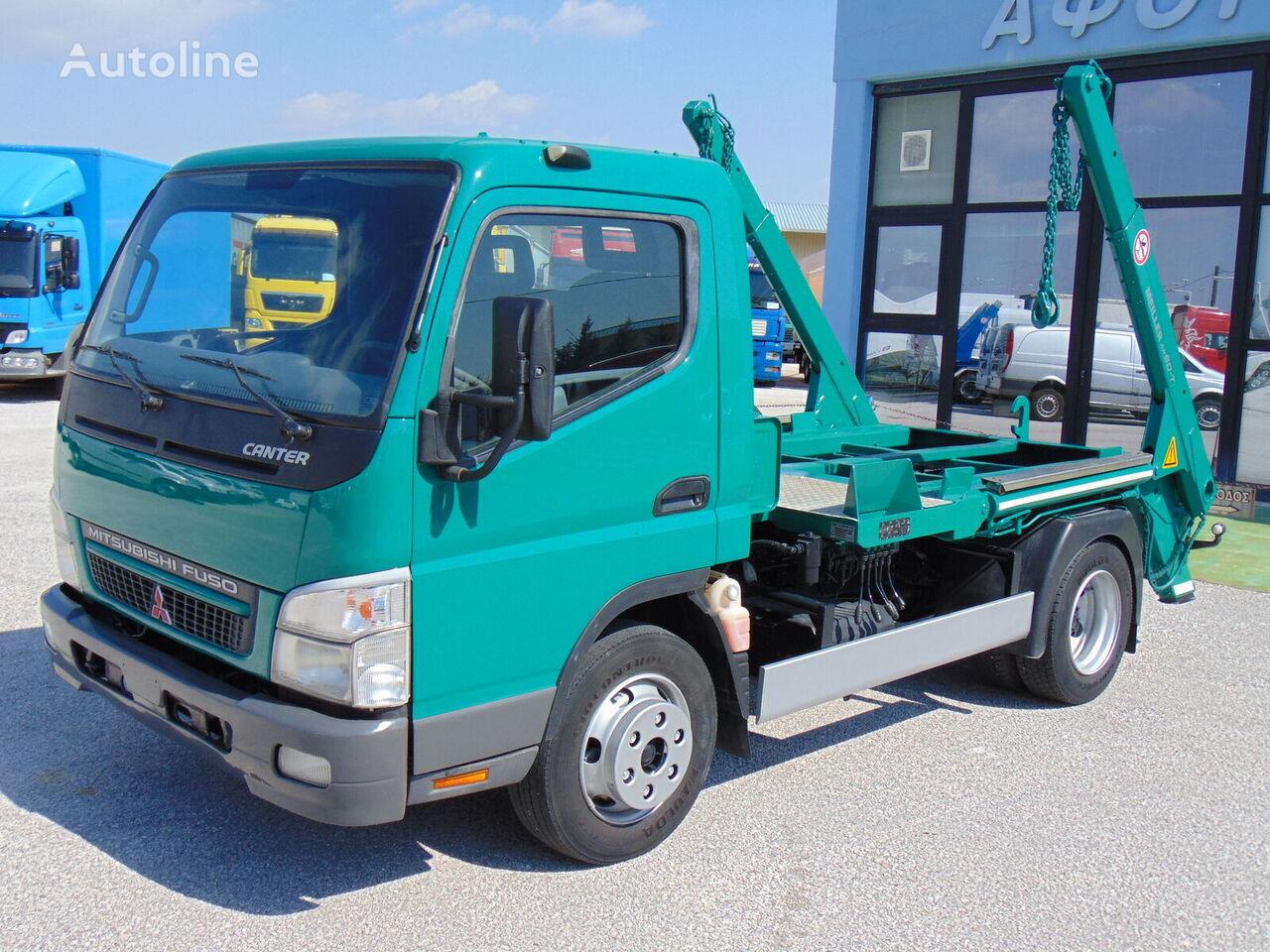 MITSUBISHI FUSO CANTER FE85 kravas automašīna konteinera vedējs