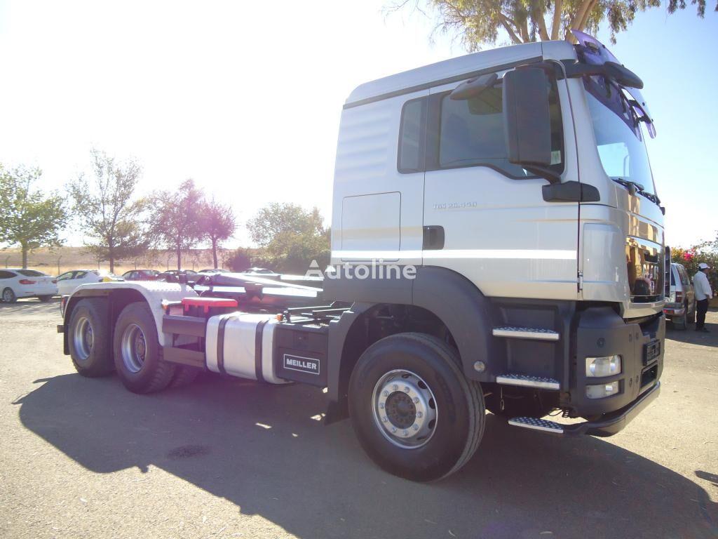 MAN  TGA 26 440 kravas automašīna pacēlājs ar āķi