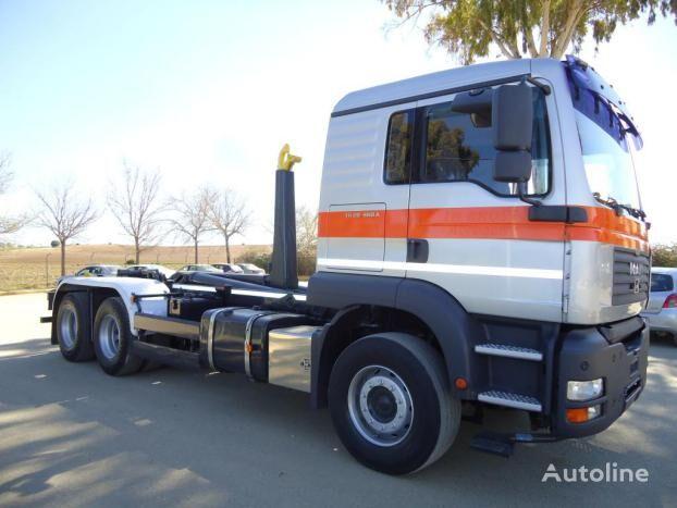 MAN TGA 33 440 kravas automašīna pacēlājs ar āķi