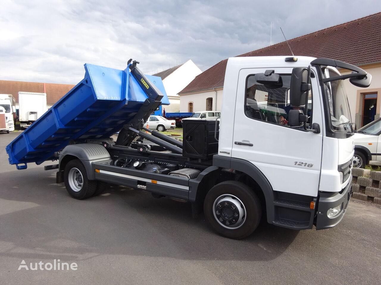 MERCEDES-BENZ Atego 1217 Zcela nový nosič Kontejnerů kravas automašīna pacēlājs ar āķi