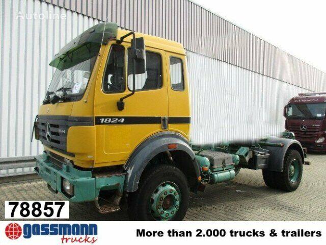 MERCEDES-BENZ SK 1824 AK Atlas Abroller 3-Seiten kippbar kravas automašīna pacēlājs ar āķi