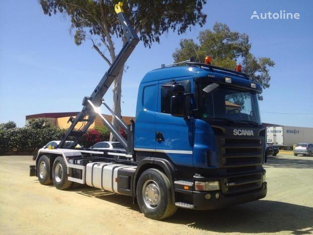 SCANIA R 480 kravas automašīna pacēlājs ar āķi
