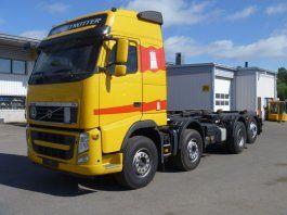 VOLVO FH 420 kravas automašīna pacēlājs ar āķi