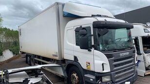 SCANIA P340 kravas automašīna refrižerators pēc avārijas