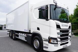 SCANIA SCANIA R500, Euro 6, 6x2, 19 EPAL refrigerator , lifting axle, N kravas automašīna refrižerators