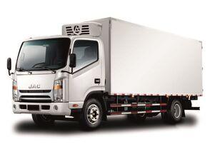jauns JAC Изотермический фургон с ХОУ JAC N 80 kravas automašīna refrižerators