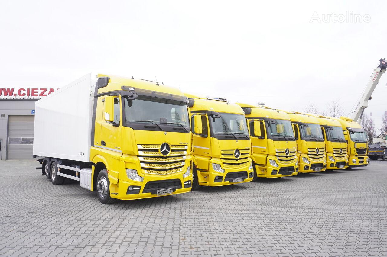 MERCEDES-BENZ Actros 2542 , 2543 , 2545 , 18-22 EPAL , 20 Refrigerator trucks  kravas automašīna refrižerators