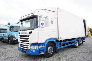 SCANIA G490, Meat hooks , 19 EPAL  kravas automašīna refrižerators