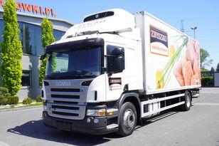 SCANIA P 280 , E5 , Meat hooks , 18 EPAL , tail lift 1500 kg  kravas automašīna refrižerators