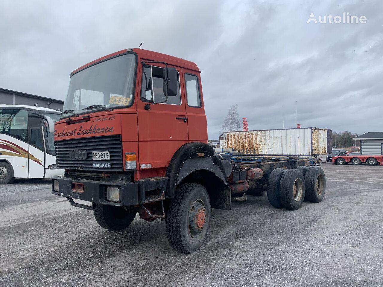 IVECO 260-25 6x6 full steel big axels kravas automašīna šasija