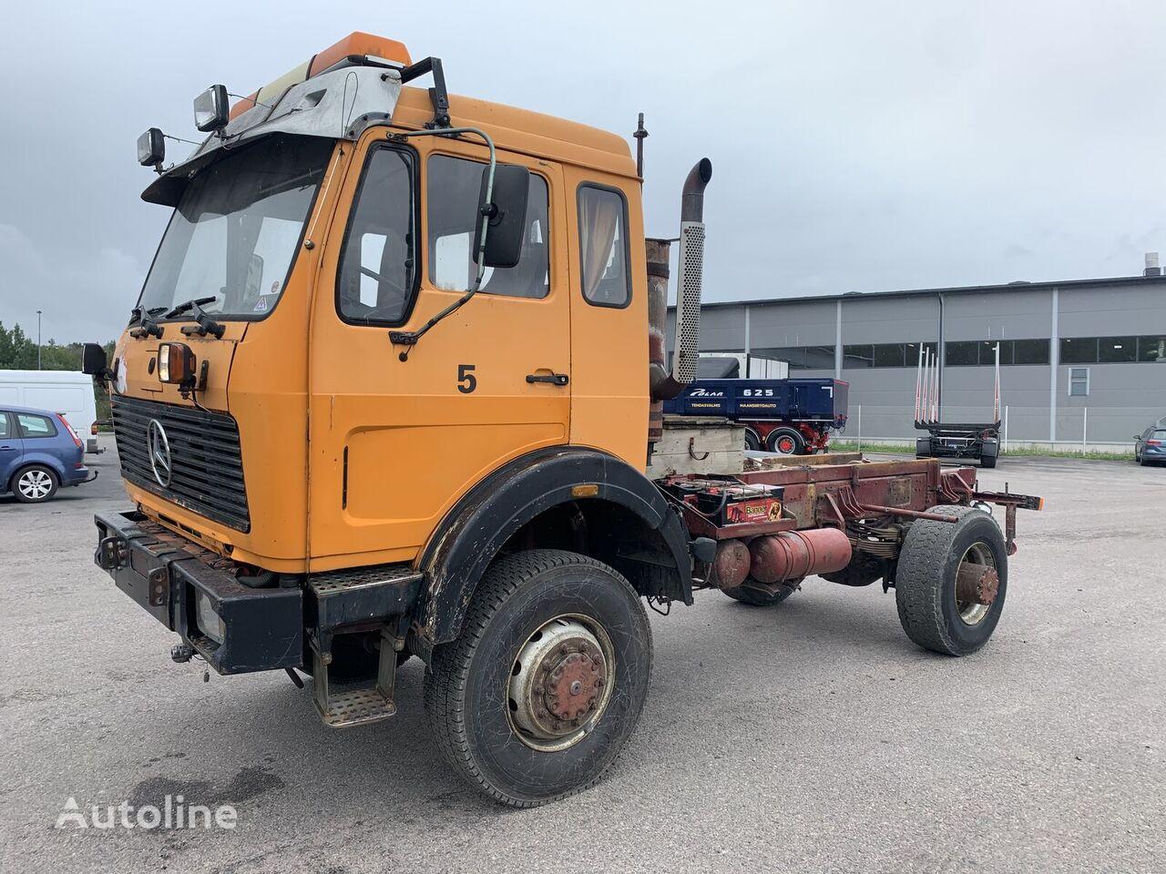 MERCEDES-BENZ 1926 4x4 full steel manual V8 kravas automašīna šasija