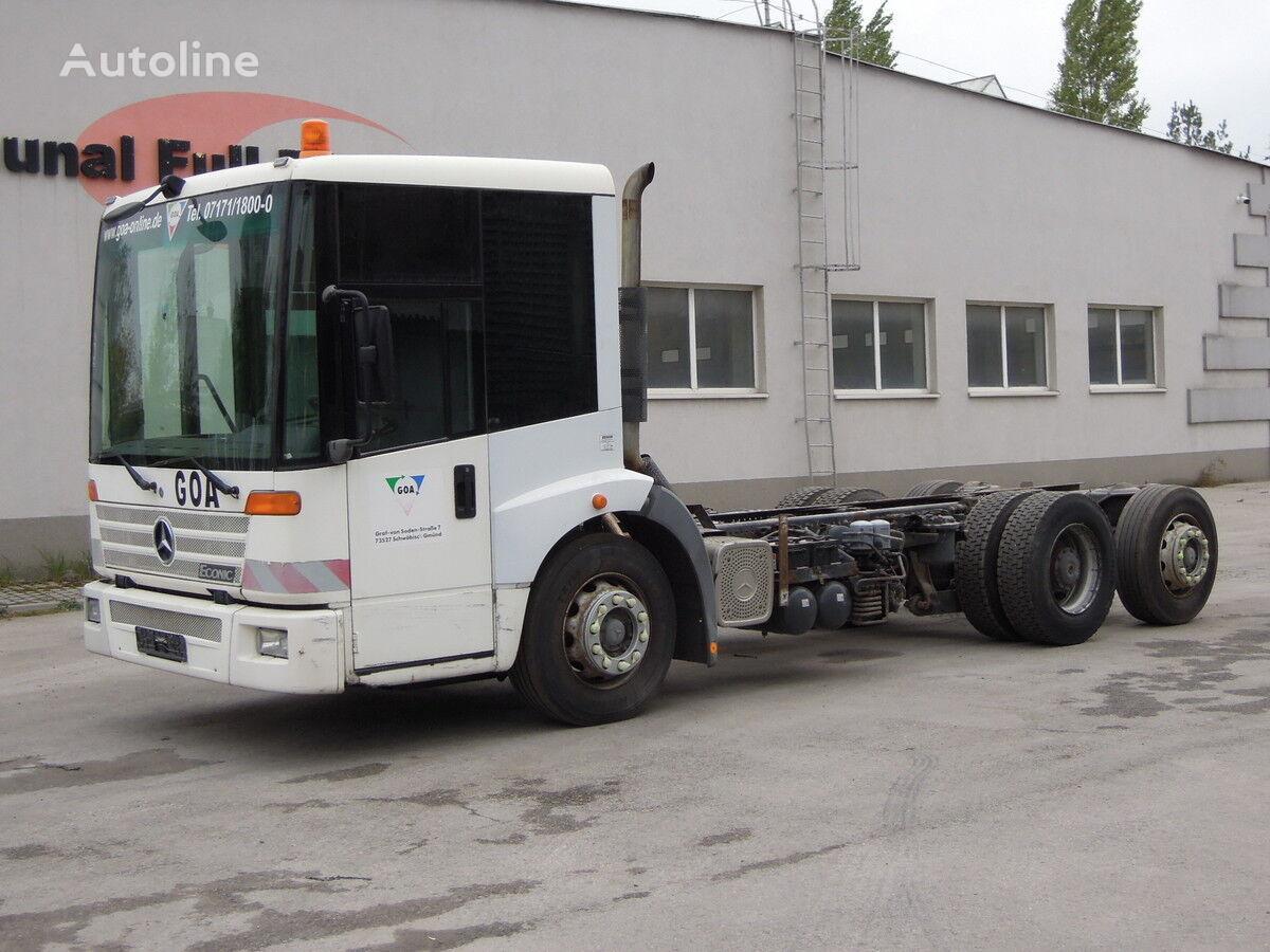 MERCEDES-BENZ 26-28 Econic Podwozie,7m 6 metrów kravas automašīna šasija