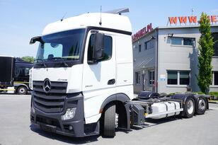 MERCEDES-BENZ Actros 2542 , E6 , 6X2 , MEGA , BDF , chassis 7,9m , steer axle  kravas automašīna šasija