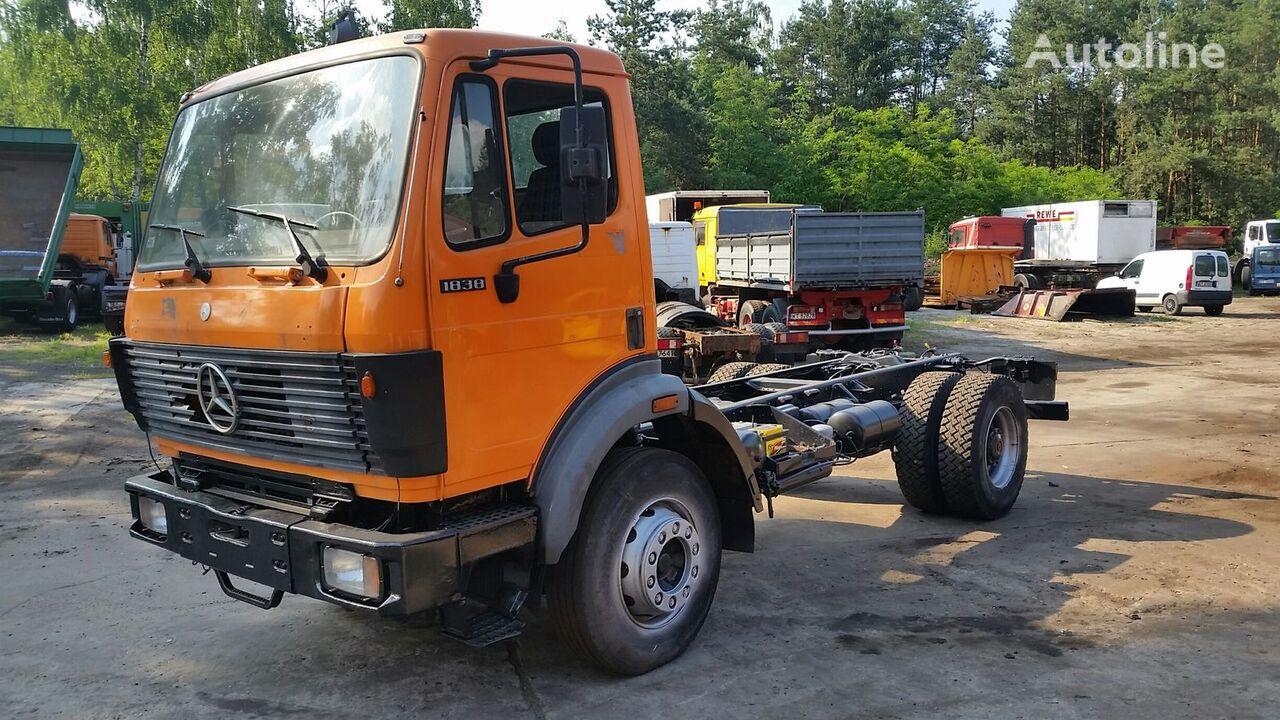 MERCEDES-BENZ SK 1838 V8 Full Spring/Blatt/Lames (1922/1929/1928/1729/1722) kravas automašīna šasija