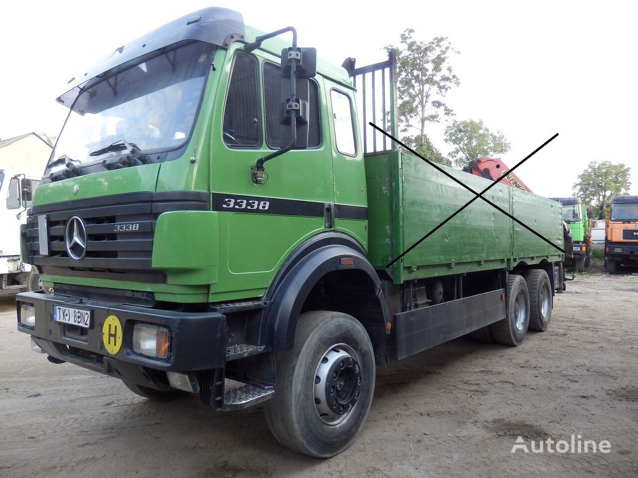MERCEDES-BENZ SK 3338 2638 2644 WHEELBASE 4.5 M, V8  kravas automašīna šasija