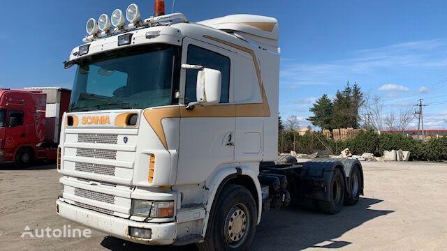 SCANIA 164  kravas automašīna šasija