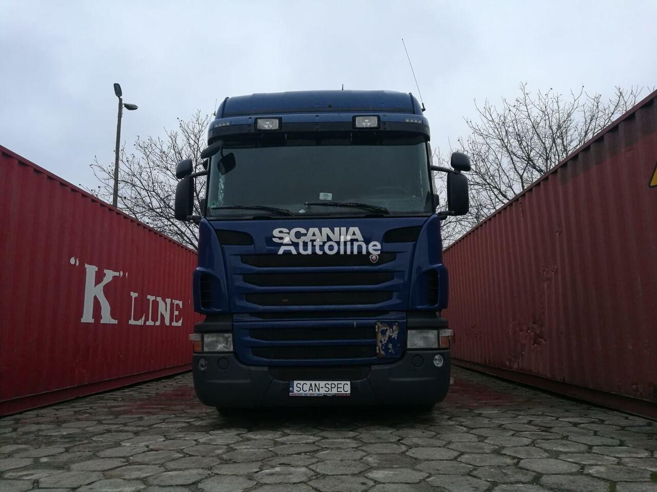SCANIA G420  kravas automašīna šasija
