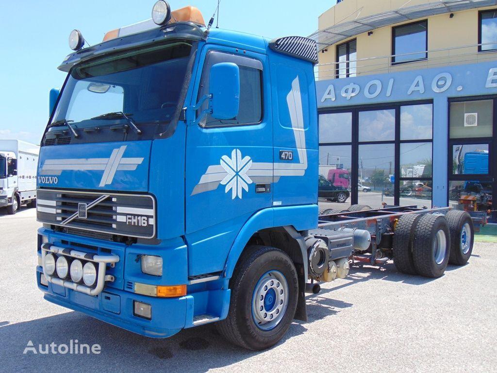 VOLVO FH 16 520-470 kravas automašīna šasija