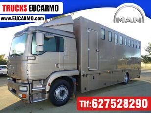 MAN TGS 18 280 kravas automašīna zirgu pārvadāšanai