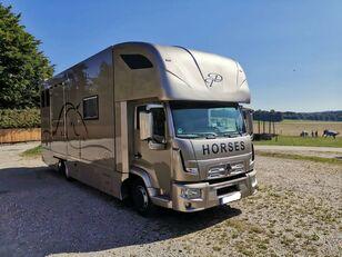 RENAULT Renault D Cap 2 M Lakórésszel kravas automašīna zirgu pārvadāšanai